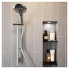 Bristan Casino Shower Kit With Large 3 Function Handset & Easy Clean Hose (CAS KIT05 C)