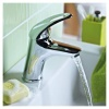 Bristan Java Basin Mixer With Eco-Click & Clicker Waste (J EBAS C)