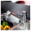 Bristan Pear Kitchen Sink Mixer With Pull Out Spray