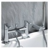 Hygienic Bathrooms Bath Shower Mixer With Shower Kit (7701)