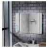 Hygienic Bathrooms Horizontal Or Vertical Fitting Mirror With LED Back Lighting 700 x 500mm (MIR006)