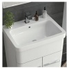 Hygienic Bathrooms R Series 600mm Grey Freestanding Basin Vanity Unit