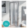 Hygienic Bathrooms Bi-Fold Door H1850 x W800mm (SE-BF6-80)