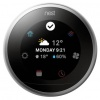 Nest 3rd Generation Digital Learning Wi-Fi Thermostat (Stainless Steel)