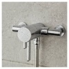 Vado Celsius 1 Outlet Thermostatic Shower Valve 3/4'' (WG-179M-CP)
