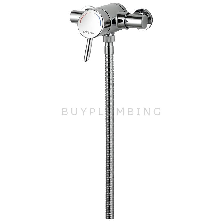 Bristan Acute Thermostatic Exposed Mini Valve Shower (AE SHXAR C)