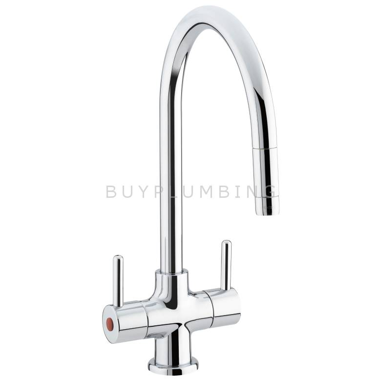 Bristan Beeline Kitchen Sink Mixer With Pull Out Nozzle