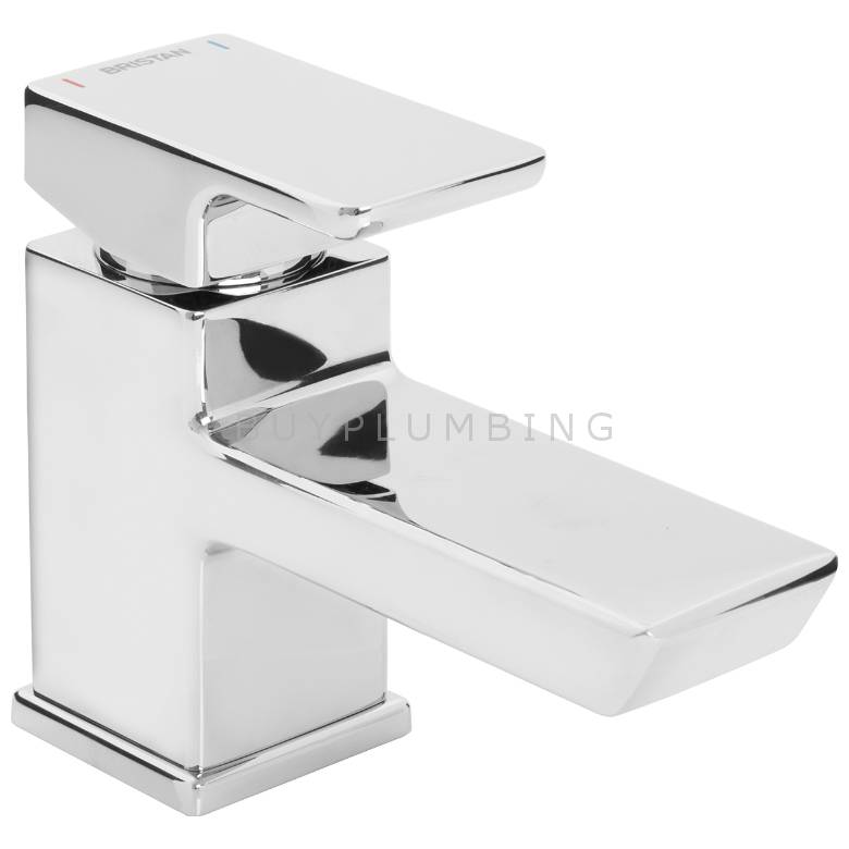 Bristan Cobalt Basin Mixer With Clicker Waste (COB BAS C)