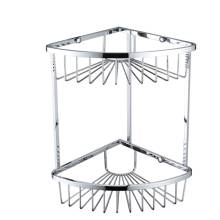 Bristan Two Tier Corner Fixed Wire Basket (COMP BASK06 C)