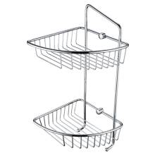 Bristan Two Tier Wall Fixed Wire Basket (COMP BASK07 C)