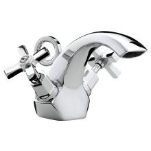 Bristan Art Deco Basin Mixer With Pop-Up Waste (D BAS C CD)