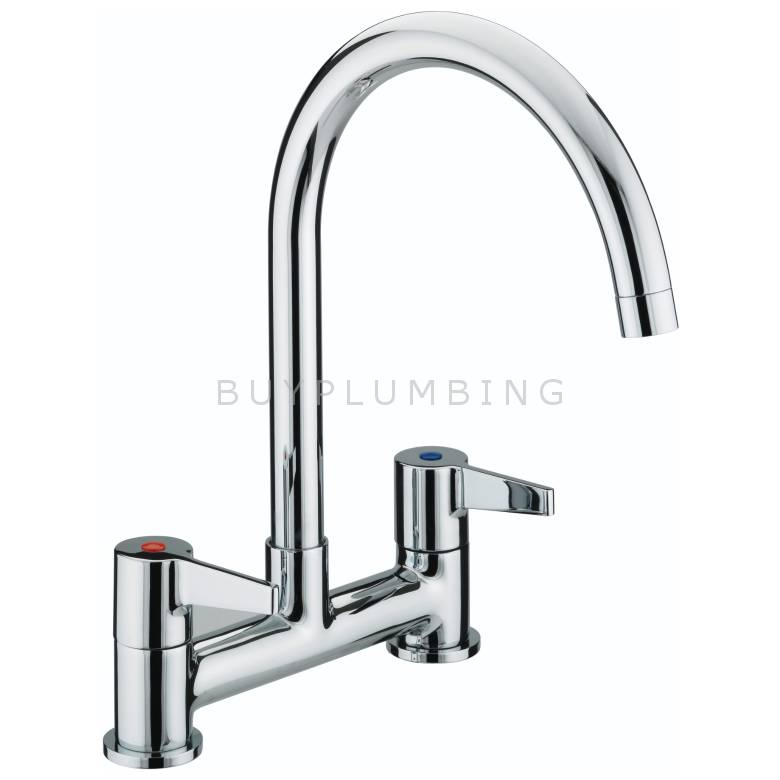 Bristan Design Utility Lever Deck Kitchen Sink Mixer