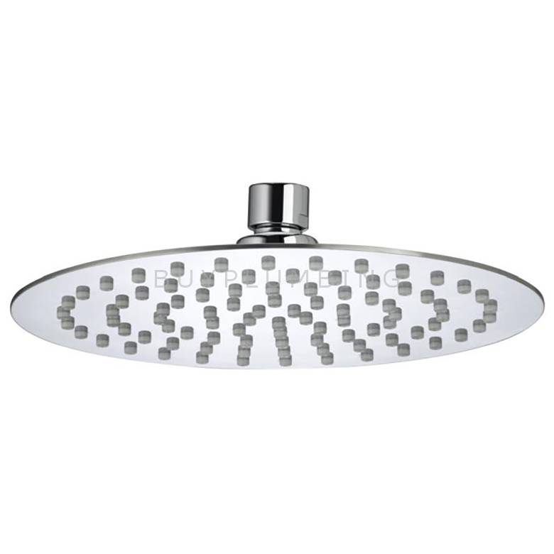 Bristan 200mm Slimline Round Fixed Shower Head
