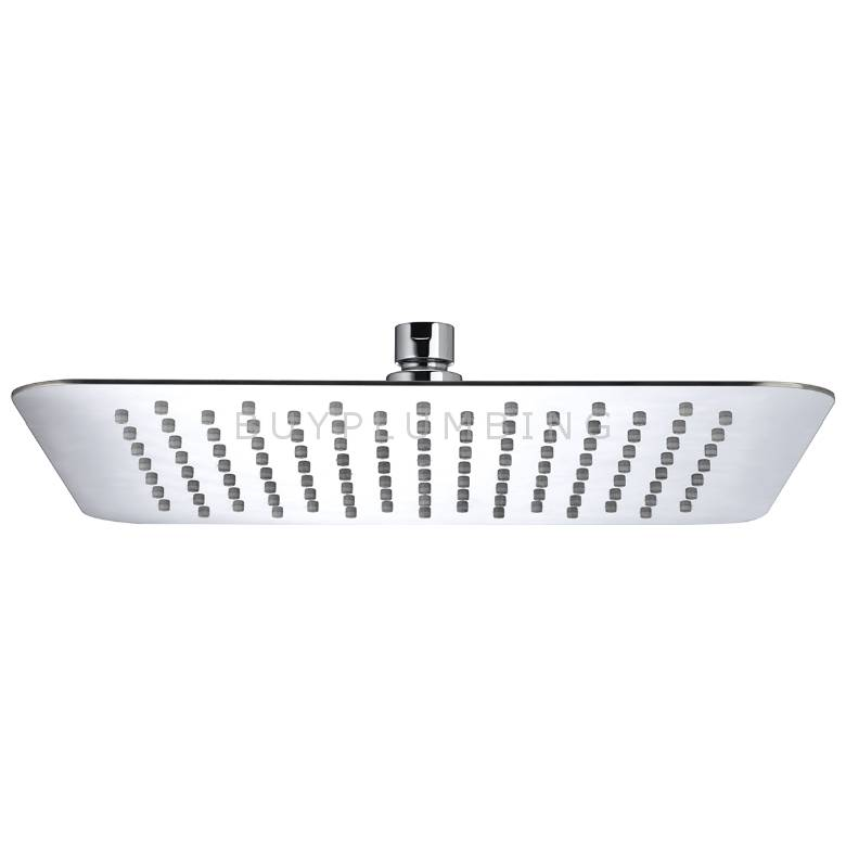 Bristan 300mm Slimline Square Fixed Shower Head