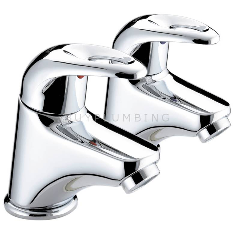 Bristan Java Basin Taps (6 Litre Flow Limit) (J 1/2 E6 C)