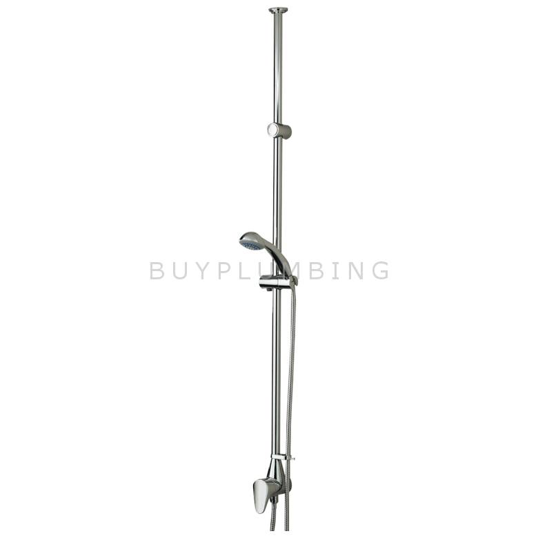 Bristan Jute Thermostatic Exposed Ceiling Fed Single Control Valve With Single Function Handset