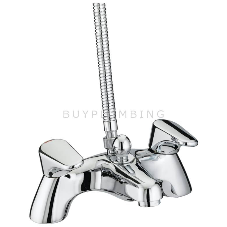 Bristan Jute Pillar Bath Shower Mixer (JU PBSM C)