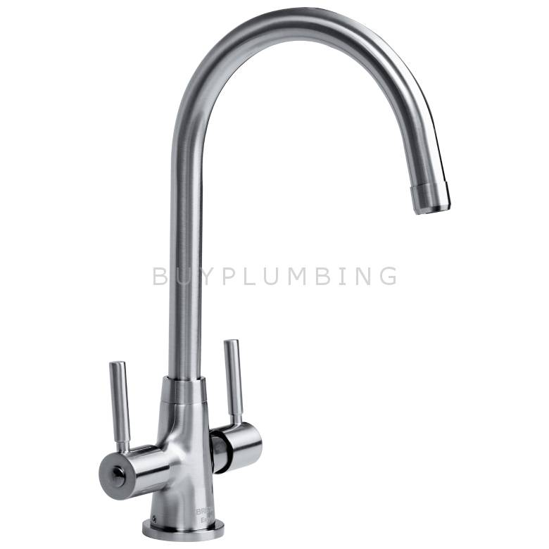 Bristan Monza Easyfit Sink Mixer (Brushed Nickel) (MZ SNK EF BN TO)