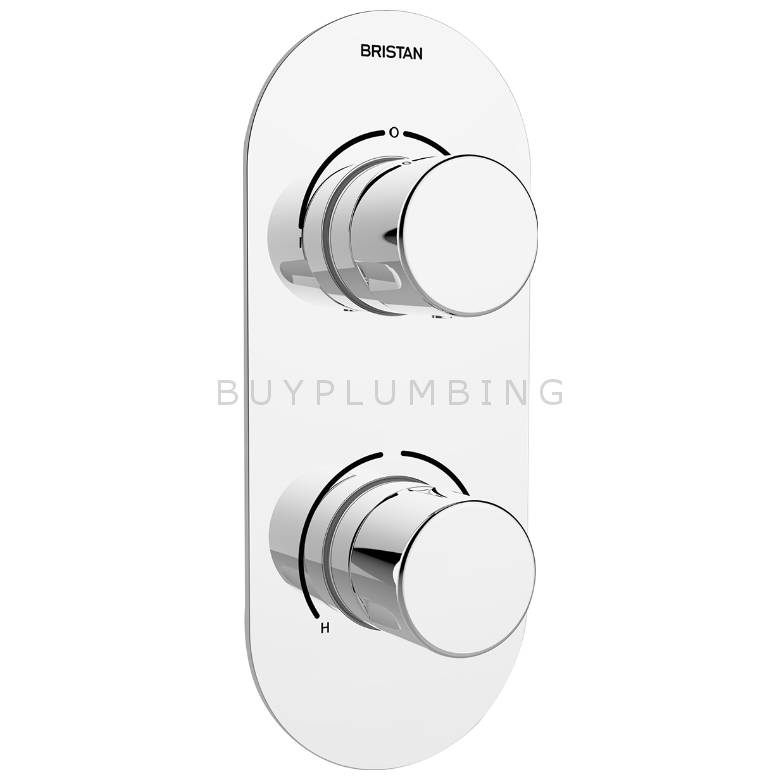 Bristan Pivot Recessed Shower Valve With Diverter (PIV SHCDIV C)