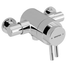 Bristan Prism Thermostatic Exposed Dual Control Shower Valve (Bottom Outlet)