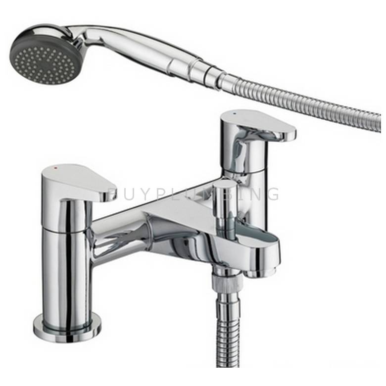 Bristan Quest Bath Shower Mixer (6 Litre Flow Limit) (QST BSM E6 C)