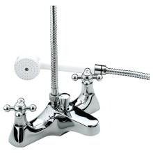Bristan Regency Deck Mounted Bath Shower Mixer