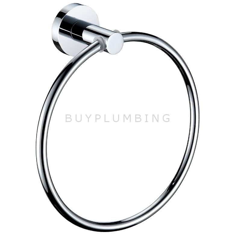 Bristan Round Accessories Towel Ring (RD RING C)
