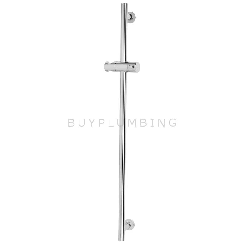 Bristan Brass Riser Rail With Fixed Position Brackets