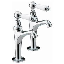 Bristan Renaissance High Neck Pillar Taps (RS HNK C)