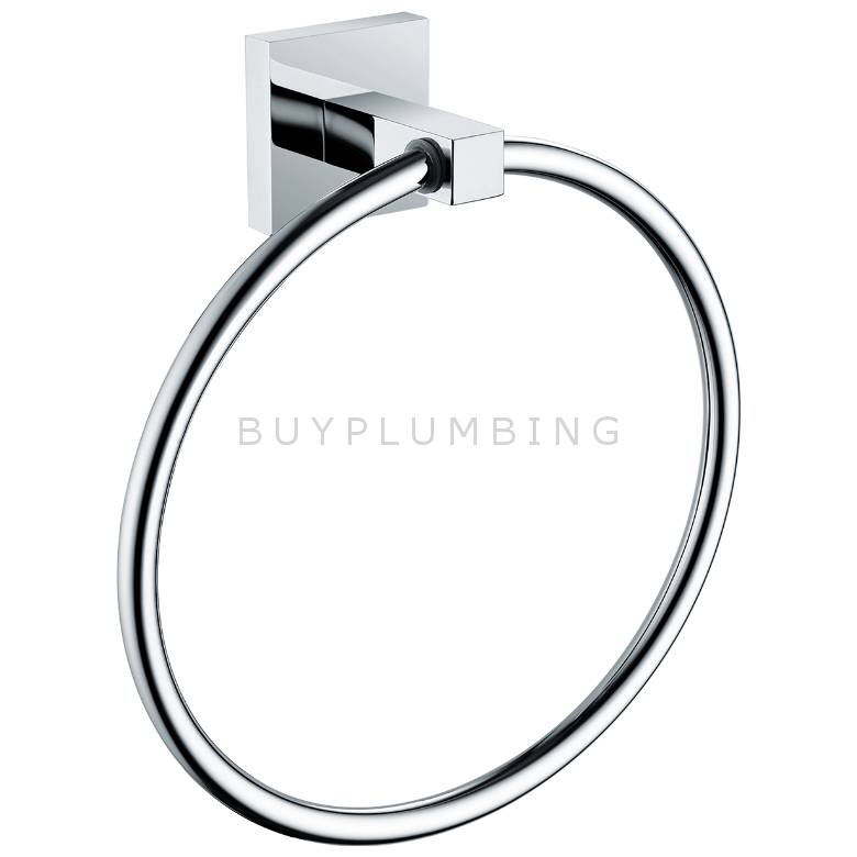 Bristan Square Towel Ring