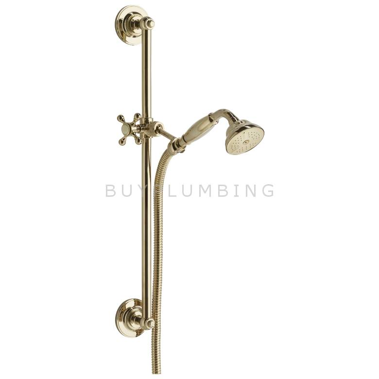 Bristan Deluxe Shower Kit (Gold)