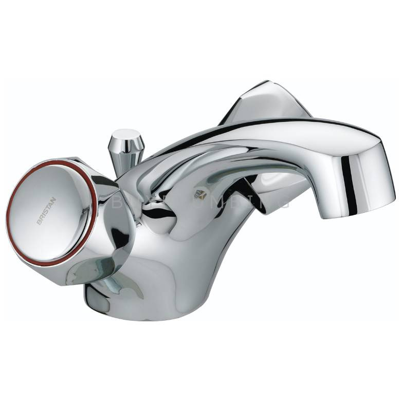 Bristan Club Dual Flow Basin Mixer With Pop-Up Waste