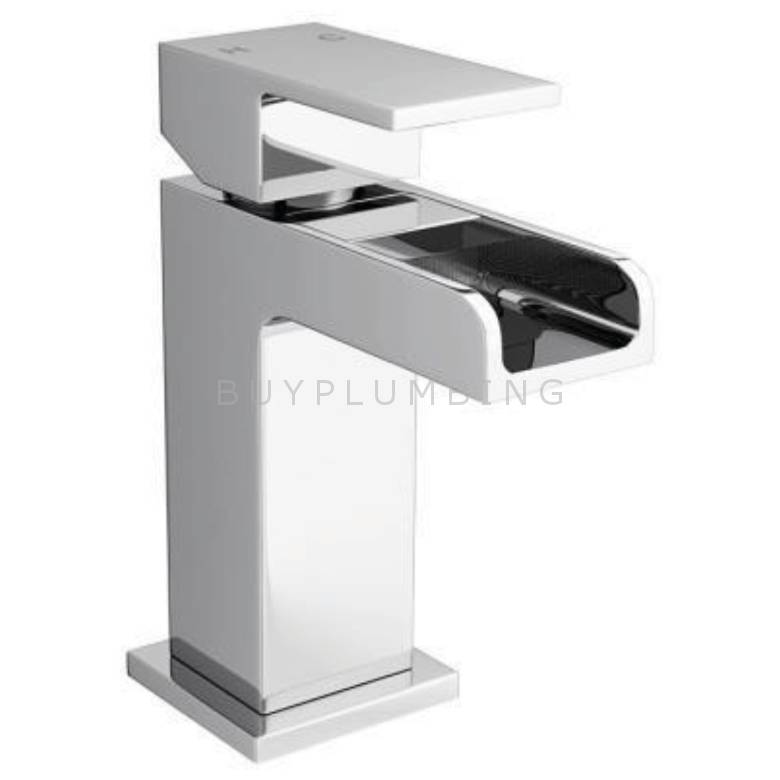 Cassellie Dunk Mini Mono Basin Mixer With Click Clack Waste