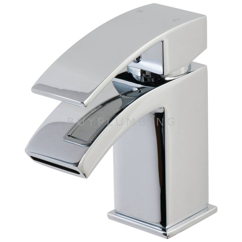 Cassellie Peak Mini Mono Basin Mixer With Click Clack Waste