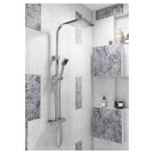 Cassellie Elite Square Thermostatic Shower Set (SK005)