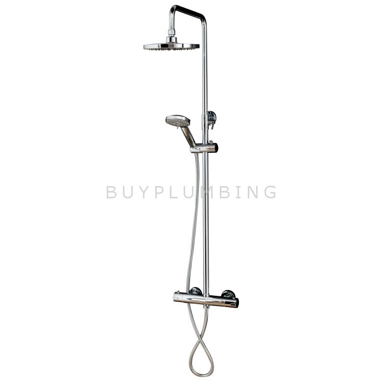 Cassellie Deana Thermostatic Bar Shower Kit
