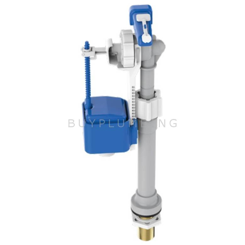 Dudley Bottom Entry Cistern Delay Fill Float Valve With Brass Tail (BHYDROB)