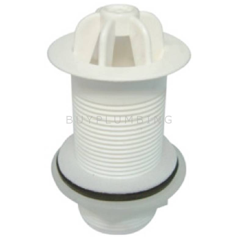 Dudley 1 1/2'' Plastic Domed 3/4'' Tail Urinal Waste (WU112)