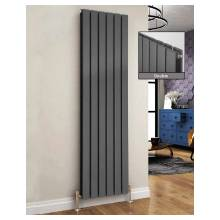Euro Heating Arona Designer Vertical Double Radiator H1800 x W476mm (Anthracite) (AR1850DA)