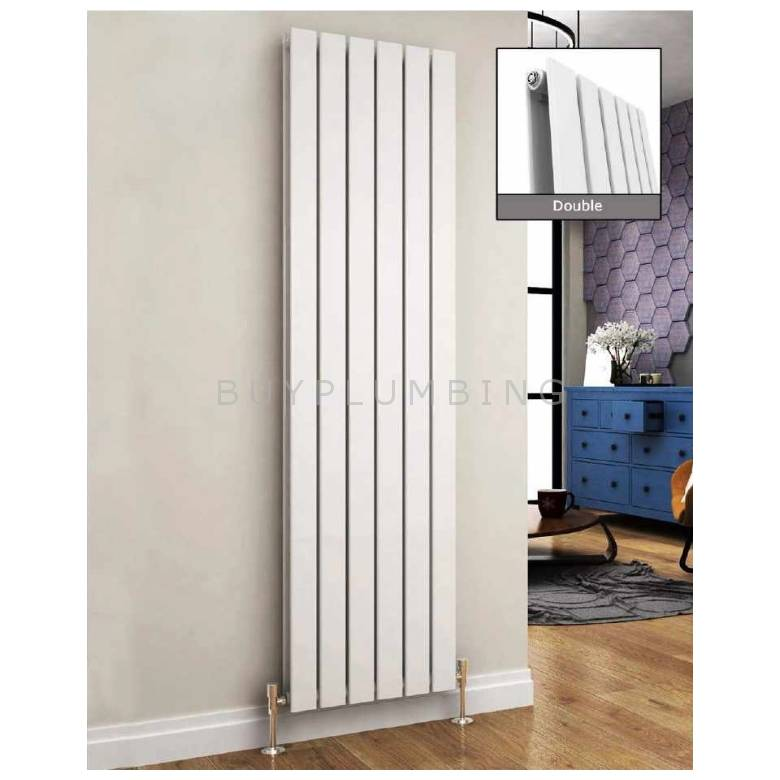 Euro Heating Arona Designer Vertical Double Radiator H1800 x W476mm (White) (AR1850DW)