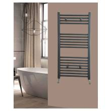 Euro Heating Opal Standard Towel Rail Radiator H800 x W400mm (Anthracite)