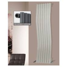 Euro Heating Kensington Designer Vertical Single Radiator 1800 x 413mm (White)