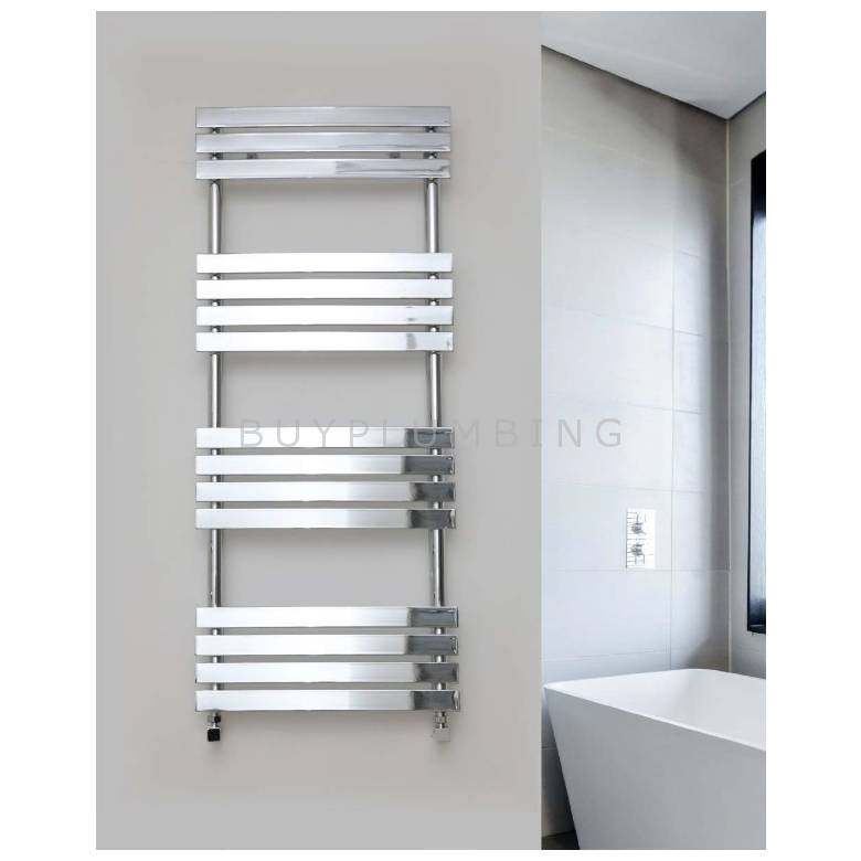 Euro Heating Leece Designer Towel Warmer Radiator 1200 x 500mm