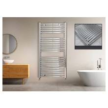 Euro Heating Opal Standard Curved Towel Rail Radiator H1200 x W600mm