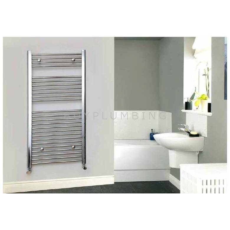 Euro Heating Opal Standard Towel Rail Radiator H1800 x W500mm (OP1850)