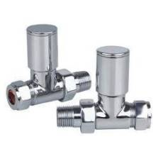 Euro Heating Straight Round Radiator Valves (SVR)
