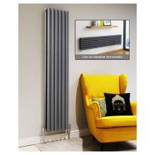 Euro Heating Tosca Designer Vertical Double Radiator H1500 x W354mm (Anthracite) (TS1535DA)