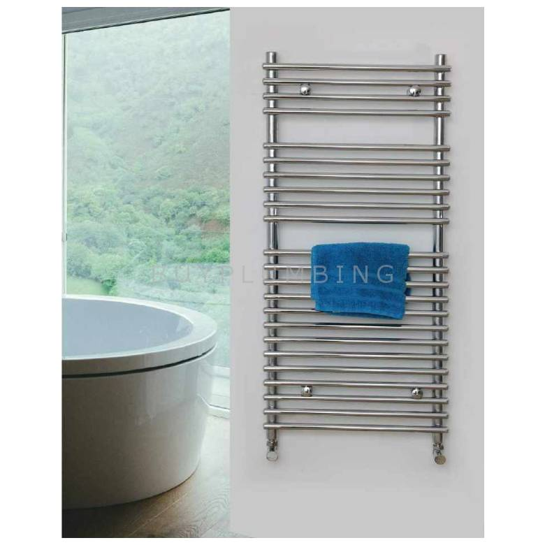 Euro Heating Vigo Designer Towel Warmer Radiator 1200 x 500mm