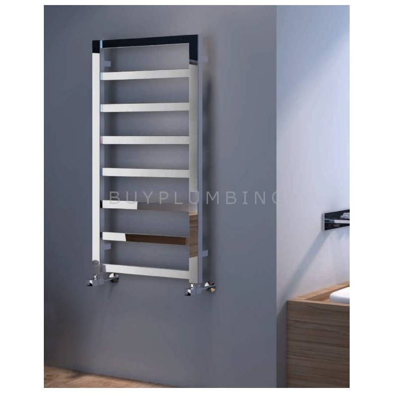 Euro Heating Wallington Designer Towel Warmer Radiator 900 x 530mm