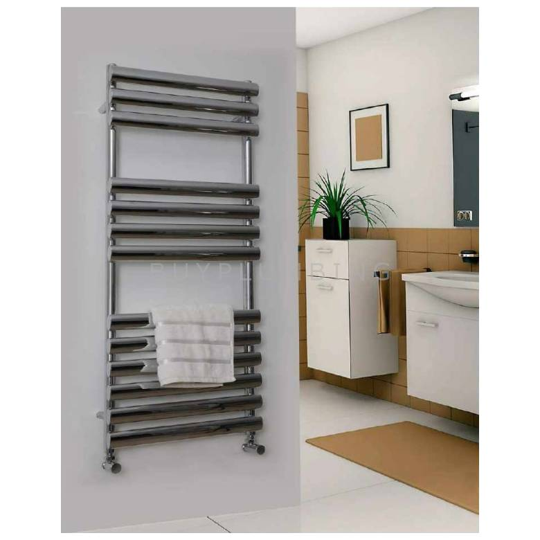 Euro Heating Ziva Designer Towel Warmer Radiator 1000 x 500mm